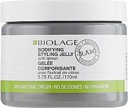 Parfémy, Parfumerie, kosmetika Styling-želé pro objem - Matrix Biolage R.A.W. Bodifyng Styling Jelly