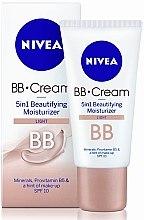 Zkrášlující hydratační krém 5 v 1 - Nivea Visage BB Cream SPF 10 — foto N2
