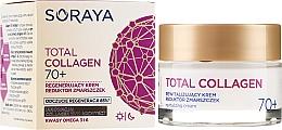Parfémy, Parfumerie, kosmetika Regenerační krém proti vráskám děnní a noční 70+ - Soraya Total Collagen 70+