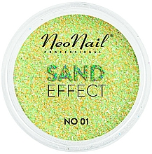 Parfémy, Parfumerie, kosmetika Třpytky na nehty Pískový efekt - NeoNail Professional Sand Effect