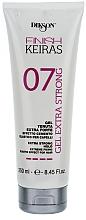 Parfémy, Parfumerie, kosmetika Extra sílný gel na vlasy - Dikson Finish Keiras Gel Extra Strong Effetto Cemento Elastino 07