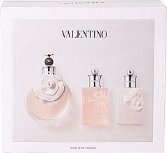 Parfémy, Parfumerie, kosmetika Valentino Valentina - Sada (edp/80ml + sh/gel/50ml + b/l/50ml)