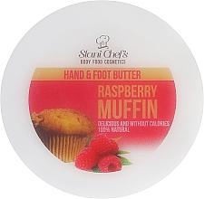 Parfémy, Parfumerie, kosmetika Krém na nohy a ruce Malinový dortík - Hristina Cosmetics Stani Chef's Raspberry Muffin Hand & Foot Butter