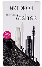 Parfémy, Parfumerie, kosmetika Sada - Artdeco Angel Eyes (mascara/10ml + booster/10ml + bag)