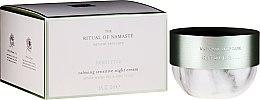 Parfémy, Parfumerie, kosmetika Zklidňující noční krém na obličej - Rituals The Ritual Of Namaste Calming Sensitive Night Cream