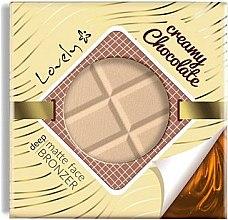 Parfémy, Parfumerie, kosmetika Bronzující pudr na obličej - Lovely Creamy Chocolate Deep Matte Bronze