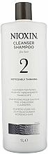 Parfémy, Parfumerie, kosmetika Čistící šampon - Nioxin Thinning Hair System 2 Cleanser Shampoo