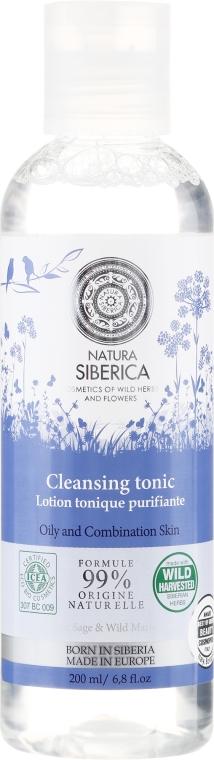 Čistící tonikum na obličej - Natura Siberica Born in Siberia Cleansing Tonic — foto N1