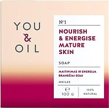 Parfémy, Parfumerie, kosmetika Vyživující mýdlo pro zralou pokožku - You & Oil Nourish & Energise Mature Skin