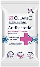 Parfémy, Parfumerie, kosmetika Antibakteriální ubrousky, 24ks - Cleanic Antibacterial Wipes