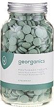 Parfémy, Parfumerie, kosmetika Tablety na výplach úst Máta - Georganics Mouthwash Tablets Spearmint