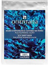 Parfémy, Parfumerie, kosmetika Maska na obličej - Orientana Silk Cloth Face Mask Philippine Seaweed & Aloe