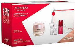 Parfémy, Parfumerie, kosmetika Sada - Shiseido Benefiance (cr/50ml + foam/5ml + lot/7ml + conc/10ml + eye/cr/2ml + bag/1)