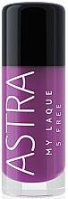 Parfémy, Parfumerie, kosmetika Lak na nehty - Astra Make-up My Laque 5 Free