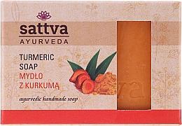 Parfémy, Parfumerie, kosmetika Tělové mýdlo Kurkuma - Sattva Ayurveda Turmeric Soap