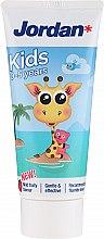 Parfémy, Parfumerie, kosmetika Zubní pasta 0-5 let, žirafa - Jordan Kids Toothpaste