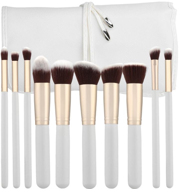 Sada profesionálních make-up štětců, 10 ks - Tools For Beauty