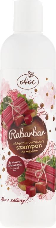 Šampon na vlasy s extraktem z rebarbory a ovoce - Ovoc Rabarbar Szampon