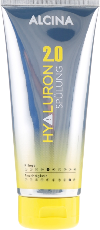 Oplachovač na vlasy s kyselinou hyaluronovou - Alcina Hyaluron Hair Conditioner