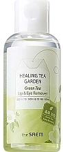 Parfémy, Parfumerie, kosmetika Odličovač na oči a rty s extraktem ze zeleného čaje - The Saem Healing Tea Garden Green Tea Lip & Eye Remover
