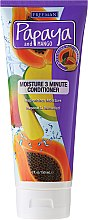 Parfémy, Parfumerie, kosmetika Hydratační kondicionér na vlasy - Freeman Papaya and Mango Moisture 3 Minute Conditioner