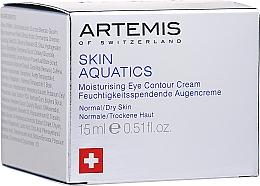 Parfémy, Parfumerie, kosmetika Krém na oční kontury - Artemis of Switzerland Skin Aquatics Moisturising Eye Contour Cream