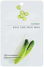 Parfémy, Parfumerie, kosmetika Látková pleťová maska s okurkovým extraktem - Eunyul Daily Care Mask Sheet Cucumber