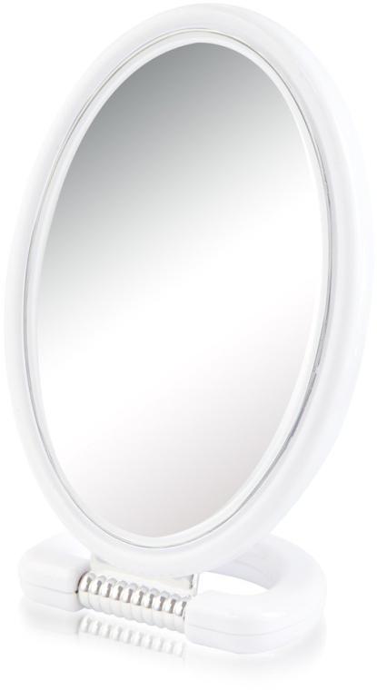 Zrcadlo kosmetické 9510, oválné, oboustranné, 22,5 cm, bílé - Donegal Mirror — foto N1