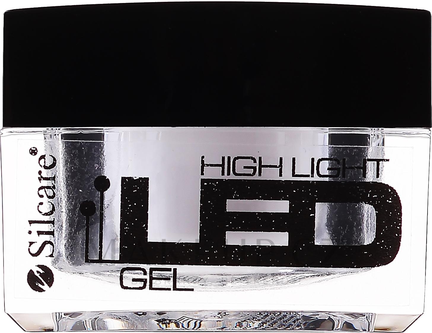 Gel na prodloužení nehtů - Silcare High Light LED Pink — foto 15 g