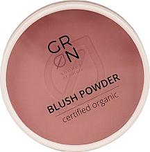 Parfémy, Parfumerie, kosmetika Pudrová tvářenka na obličej  - GRN Blush Powder (Rosewood)