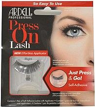 Parfémy, Parfumerie, kosmetika Umělé řasy - Ardell Press On Lashes 101 Black