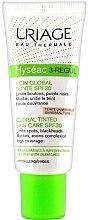 Parfémy, Parfumerie, kosmetika Krém na obličej - Uriage Hyséac 3-Regul Global Tinted Skin-Care SPF 30