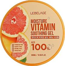 Parfémy, Parfumerie, kosmetika Zvlhčující gel s grapefruitem - Lebelage Moisture Vitamin 100% Soothing Gel