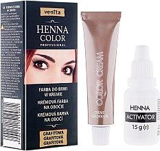 Parfémy, Parfumerie, kosmetika Krémová henna na obočí - Venita Henna Color