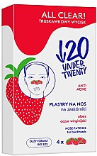 Parfémy, Parfumerie, kosmetika Čisticí proužky na nos - Under Twenty Anti! Acne All Clear! Nose Strip