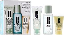 Parfémy, Parfumerie, kosmetika Sada - Clinique 3-Step System Type IV (soap/50ml + lot/100ml + Gel/30ml)
