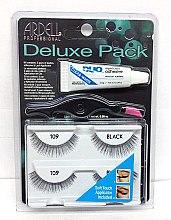 Parfémy, Parfumerie, kosmetika Sada umělých řas - Ardell Deluxe Pack 109 Black