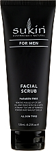 Parfémy, Parfumerie, kosmetika Pleťový peeling - Sukin For Men Facial Scrub