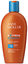 Parfémy, Parfumerie, kosmetika Opalovací mléko pro urychlení opalování - Anne Moller Express Sunscreen Body Milk SPF15