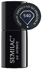 Parfémy, Parfumerie, kosmetika Lak na nehty - Semilac UV Hybrid America Go!