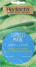 Parfémy, Parfumerie, kosmetika Hydratační maska na obličej s aloe vera - Perfecta Express Mask