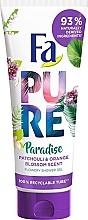 "Parfémy, Parfumerie, kosmetika Gel na sprchu ""Pačuli a pomeranč"" - Fa Pure Paradise Shower Gel Patchouli & Orange"