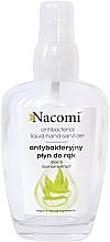Parfémy, Parfumerie, kosmetika Antibakteriální ruční sprej ve skleněné láhvi - Nacomi Antibacterial Liquid Hand Sanitizer