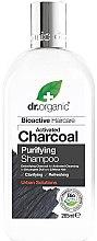 Parfémy, Parfumerie, kosmetika Šampon na vlasy s aktivovaným uhlím - Dr. Organic Bioactive Haircare Activated Charcoal Purifying Shampoo
