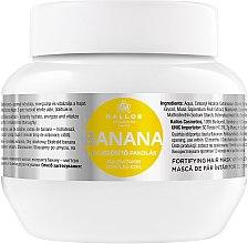 Parfémy, Parfumerie, kosmetika Maska pro zpevnění vlasů s banánovým extraktem - Kallos Cosmetics Banana Mask