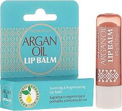 Parfémy, Parfumerie, kosmetika Ochranný lesk na rty s arganovým olejem - GlySkinCare Argan Oil Lip Balm