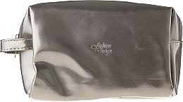 Parfémy, Parfumerie, kosmetika Kosmetická taška Fashion Design 97041, stříbrná - Top Choice