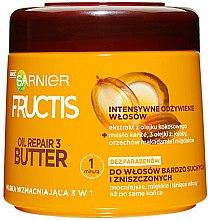 Parfémy, Parfumerie, kosmetika Maska na vlasy - Garnier Fructis Oil Repair 3 Butter Mask