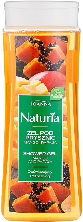 "Sprchový gel ""Mango a papája"" - Joanna Naturia Mango and Papaya Shower Gel"