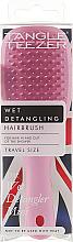 Parfémy, Parfumerie, kosmetika Kartáč na vlasy - Tangle Teezer The Wet Detangler Mini Baby Pink Sparkle